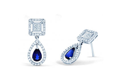 Blue Sapphire Earrings category image