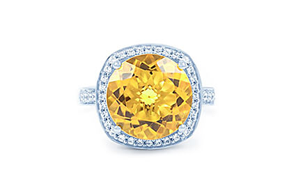 Citrine Rings category image