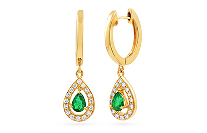 Emerald Earrings category image
