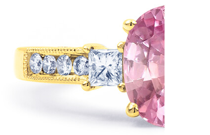 Pink Sapphire Rings category image