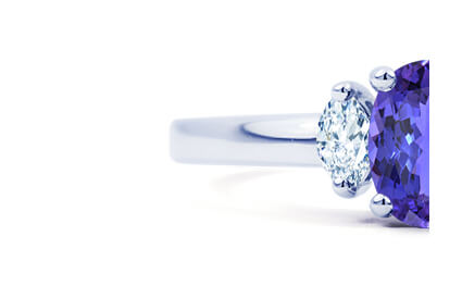 Tanzanite Engagement Rings category image