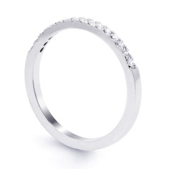 Serenity Half Band Diamond Eternity Ring image 1