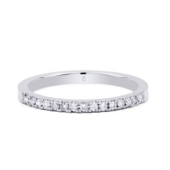 Serenity Half Band Diamond Eternity Ring image 0