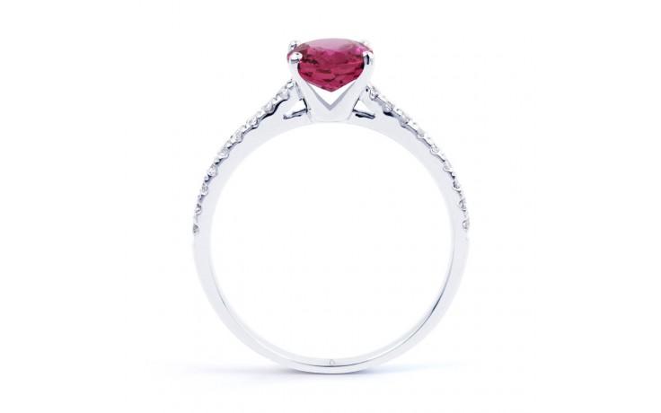 Arya Pink Tourmaline & Diamond Ring product image 3