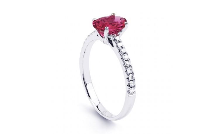 Arya Pink Tourmaline & Diamond Ring product image 2