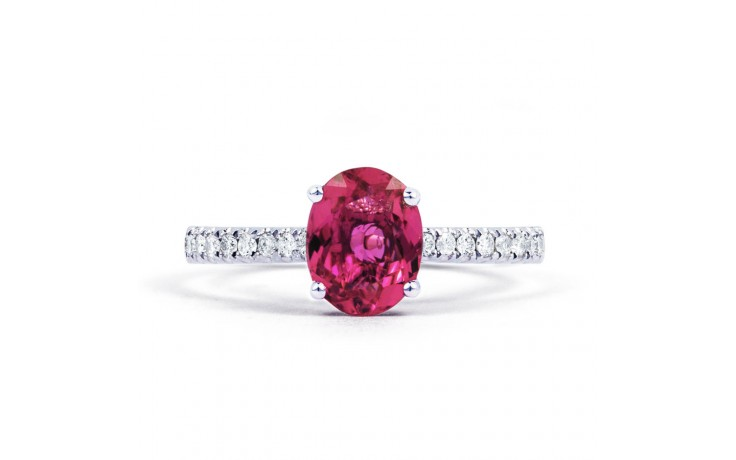 Arya Pink Tourmaline & Diamond Ring product image 1