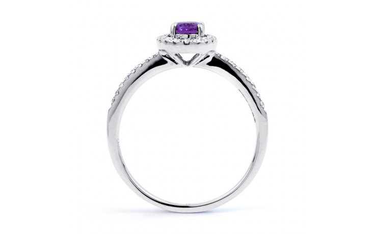 Allure Amethyst Pave Ring product image 3