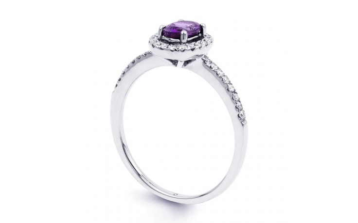 Allure Amethyst Pave Ring product image 2