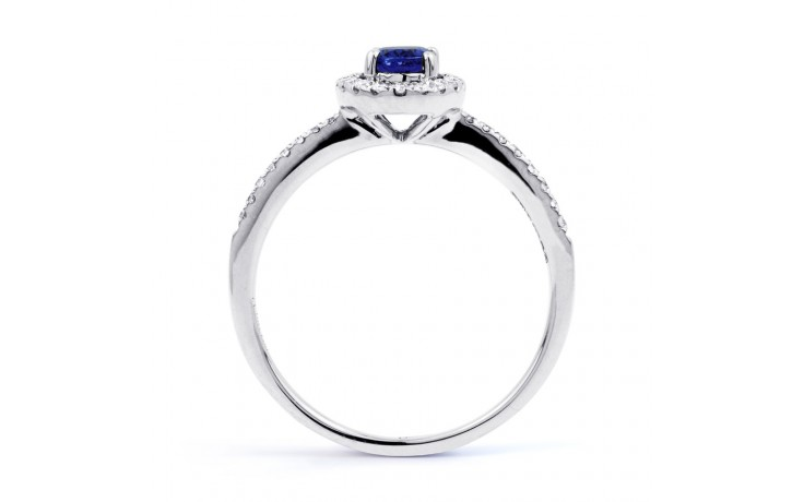 Allure Blue Sapphire Pave Ring product image 3