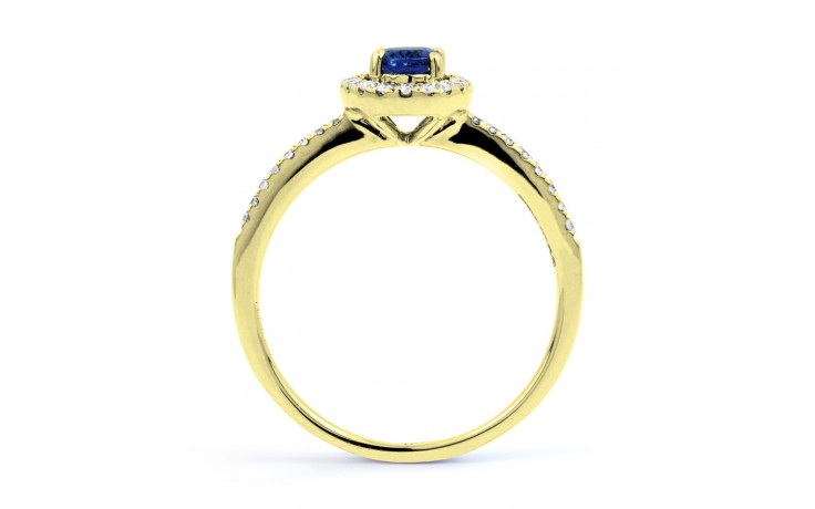 Tanzanite Pave Gold Ring product image 3