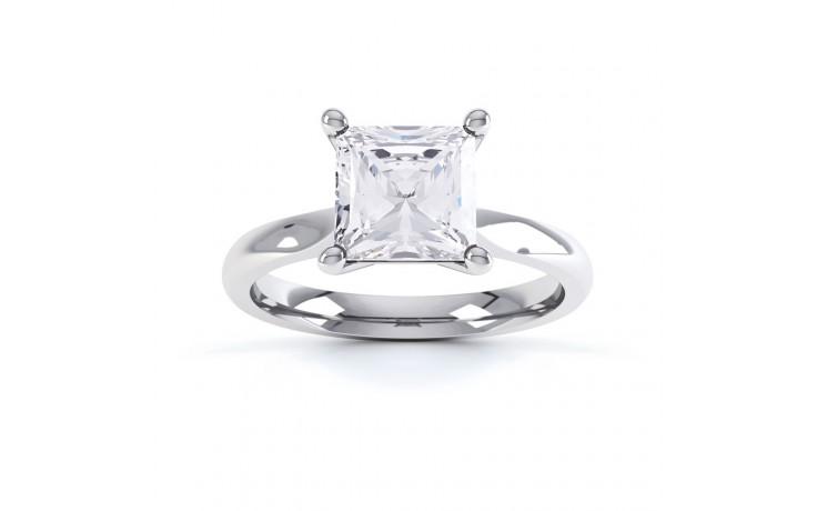 GIA 0.30ct Platinum 950 Engagement Ring product image 1
