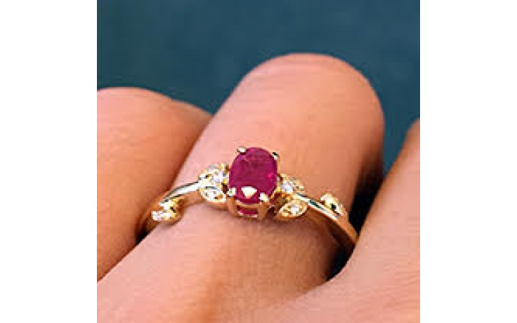 Burmese Ruby Ring  product image 1