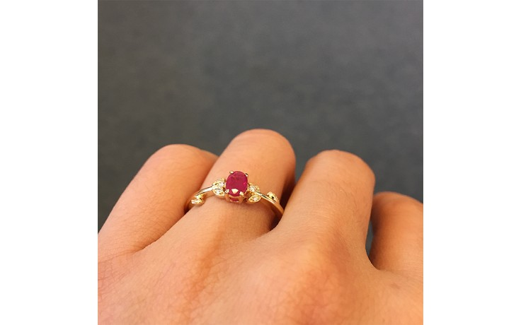Vintage Ruby Engagement Ring product image 1