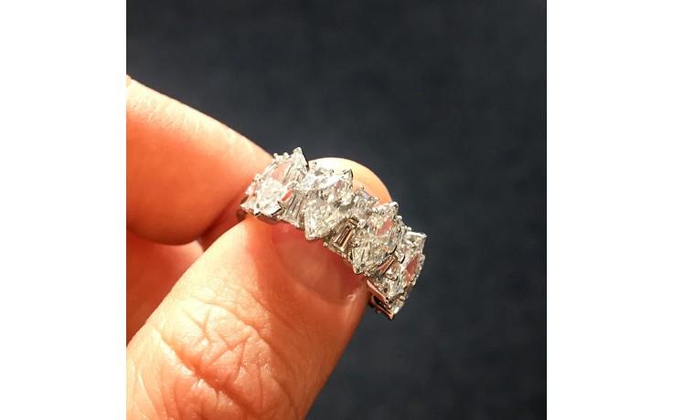 Fancy Diamond Engagement Ring product image 1