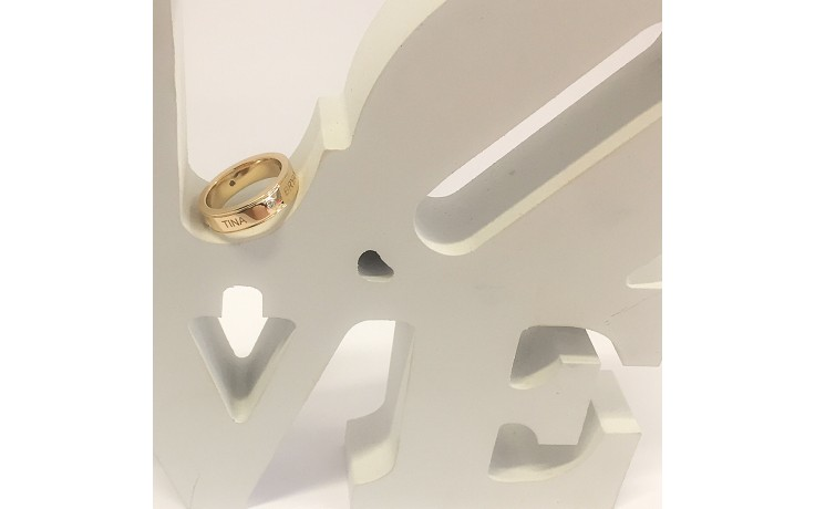 Yellow Gold Anniversary Ring product image 1