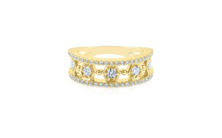 Vintage Yellow Gold Diamond Eternity Ring product image 1