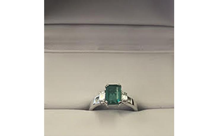 Emerald Engagement Ring  product image 1