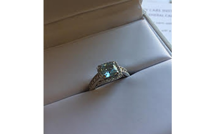 Aquamarine Cluster Ring  product image 1