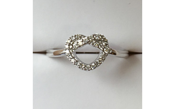 Diamond Heart Promise Ring product image 1