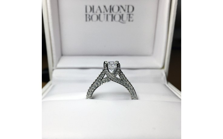 Cluster Diamond Engagement Ring product image 1