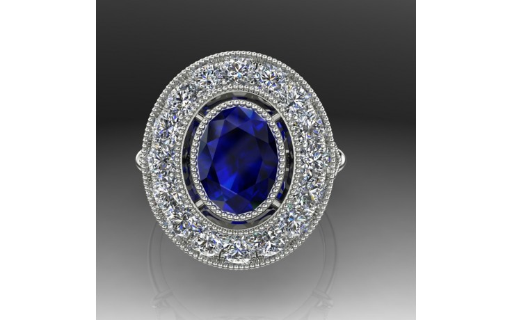 Bespoke Vintage Sri Lankan Sapphire Ring product image 1