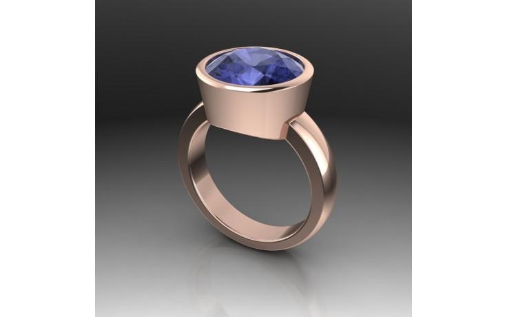 Bespoke Tanzanite & Rose Gold Ring product image 1