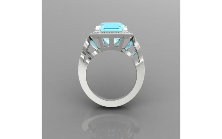 Bespoke Aquamarine Engagement Ring product image 1