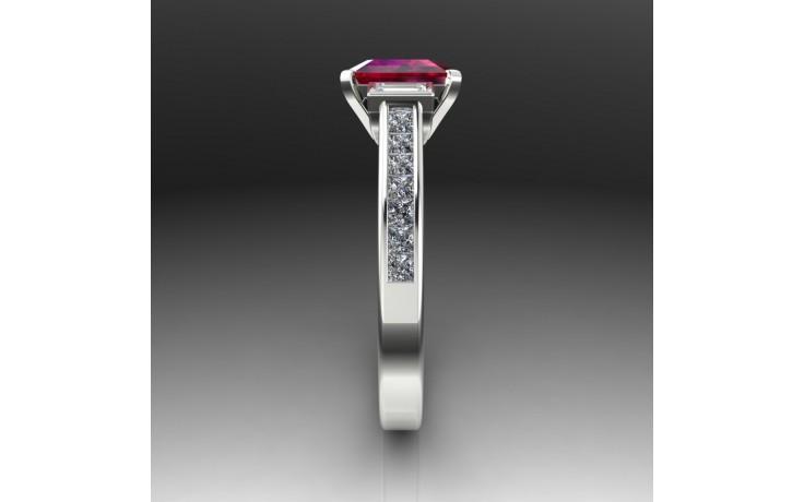 Bespoke Burmese Ruby Engagement Ring product image 1