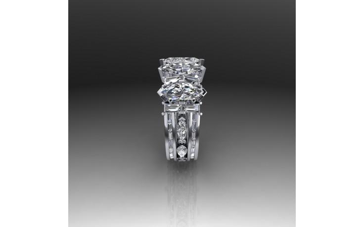 Bepsoke Fancy Diamond Engagement Ring product image 1