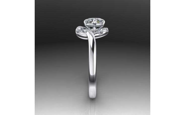 Bespoke Floral Diamond Ring product image 1