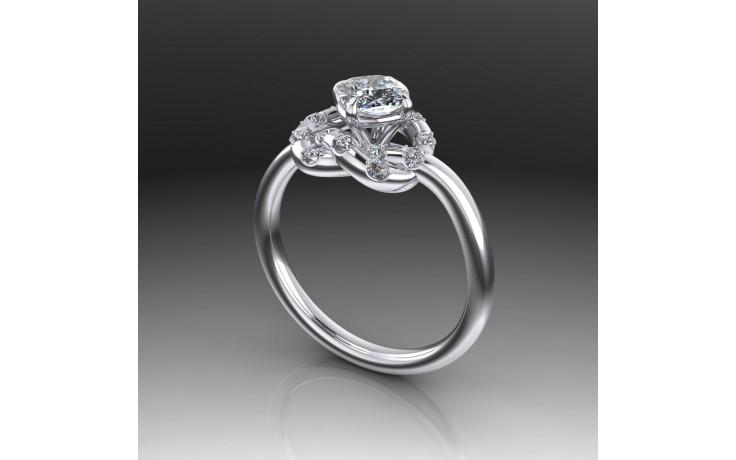 Bespoke Diamond Knot Ring product image 1