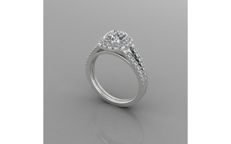 Bespoke Cushion Diamond Engagement Ring product image 1