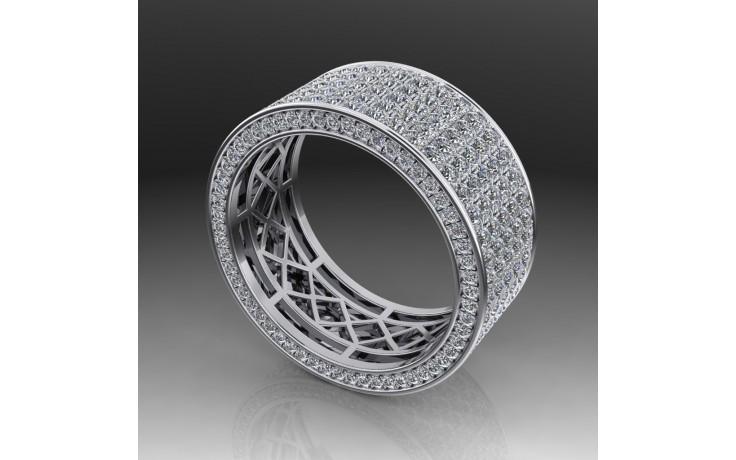 Bespoke Cluster Diamond Wedding Ring product image 1