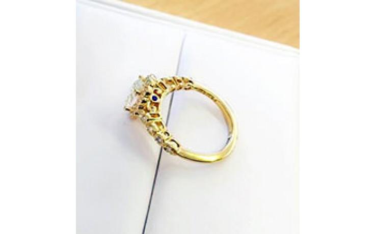 Art Deco Diamond Sapphire Ring product image 1