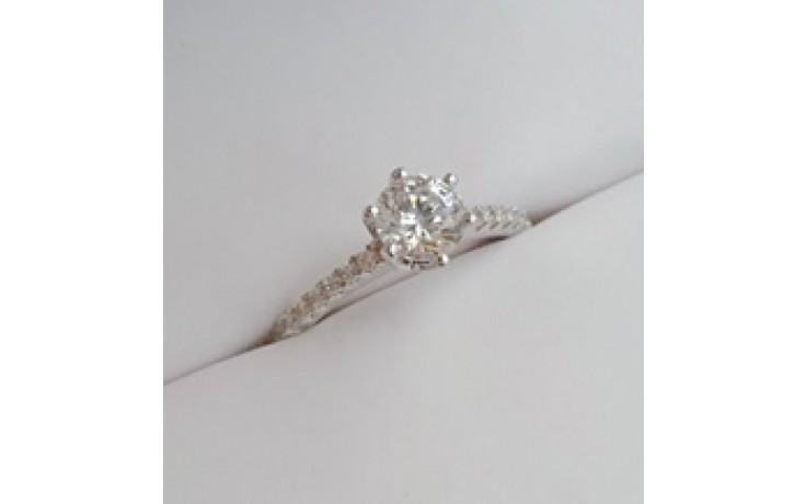 Vintage Diamond Cluster Engagement Ring  product image 1
