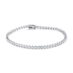 Modern Diamond Tennis Bracelet image 0