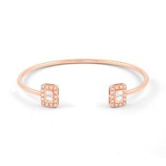 Rose Gold Diamond Cuff  image 0