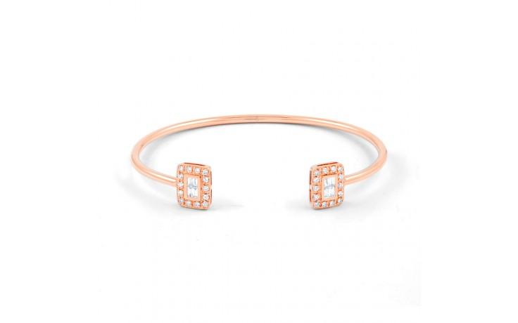 Rose Gold Diamond Cuff  product image 1