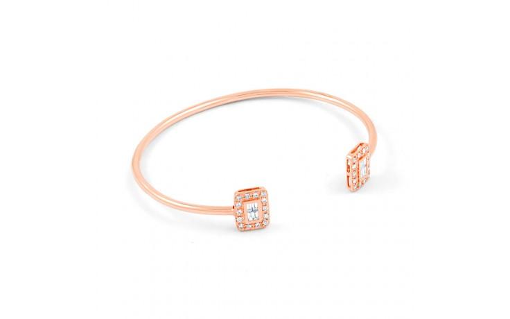 Rose Gold Diamond Cuff  product image 2
