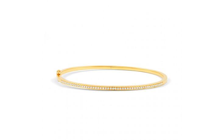 Yellow Gold Diamond Bangle product image 1