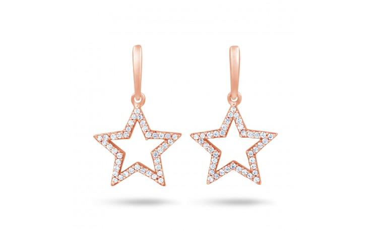 Star Shaped Diamond Earrings  product image 1