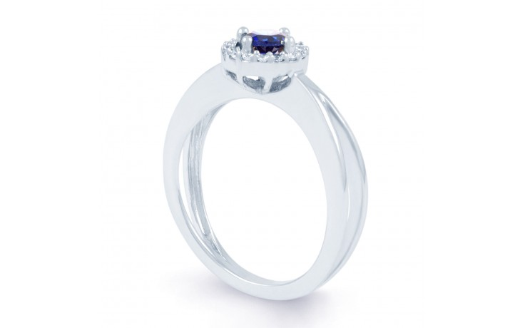 Crossover Blue Sapphire Ring product image 3