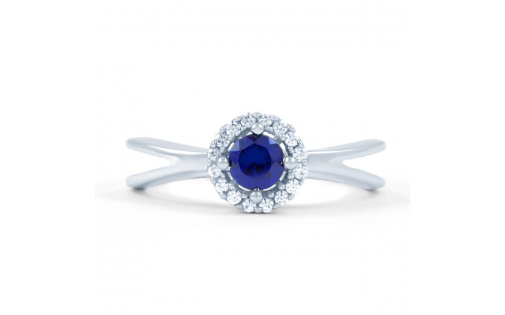 Crossover Blue Sapphire Ring product image 1