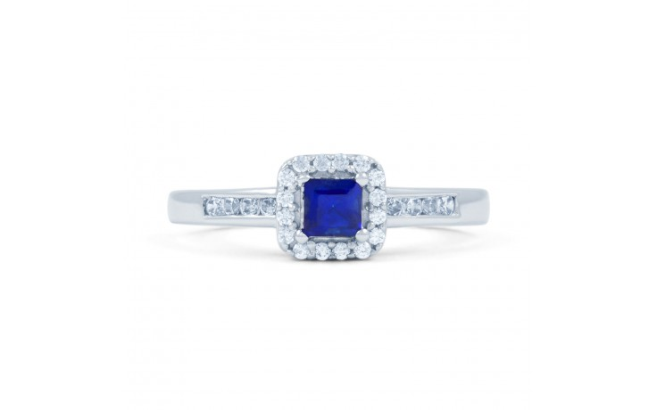 Princess Blue Sapphire Ring product image 1