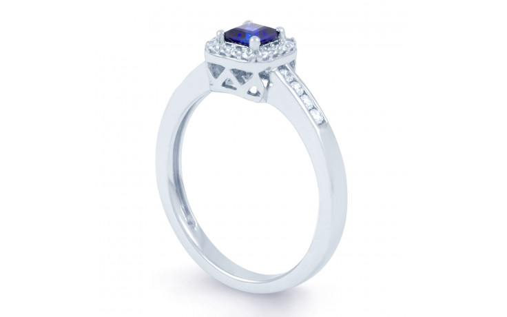 Princess Blue Sapphire Ring product image 2