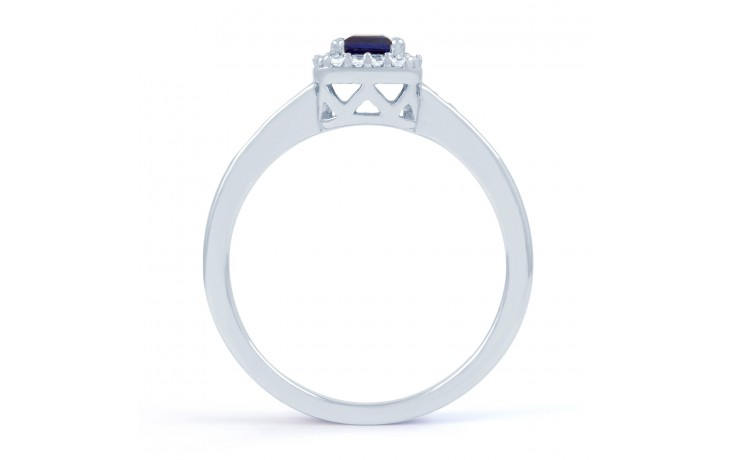 Princess Blue Sapphire Ring product image 3