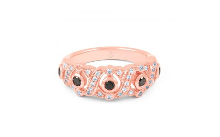 Cluster Black Diamond Ring product image 1