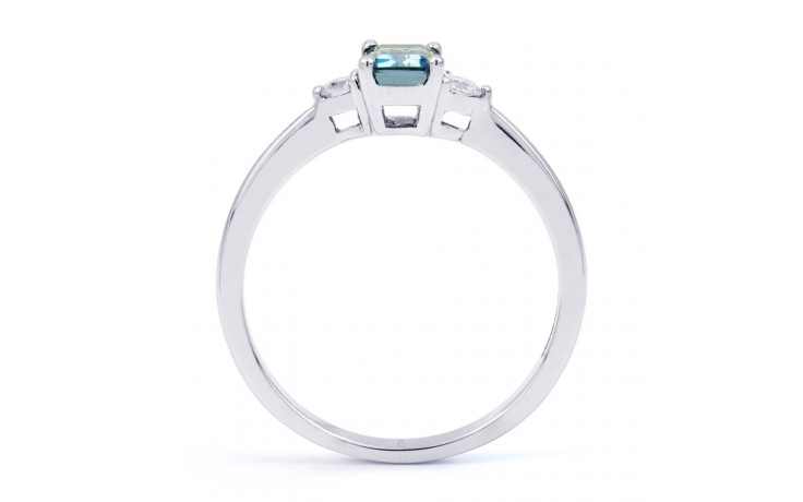 Anya Aquamarine Ring In White Gold product image 3