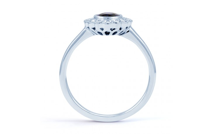 Rococo Blue Sapphire Ring product image 3