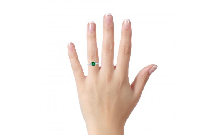 Zambian Emerald Engagement Ring product image 4